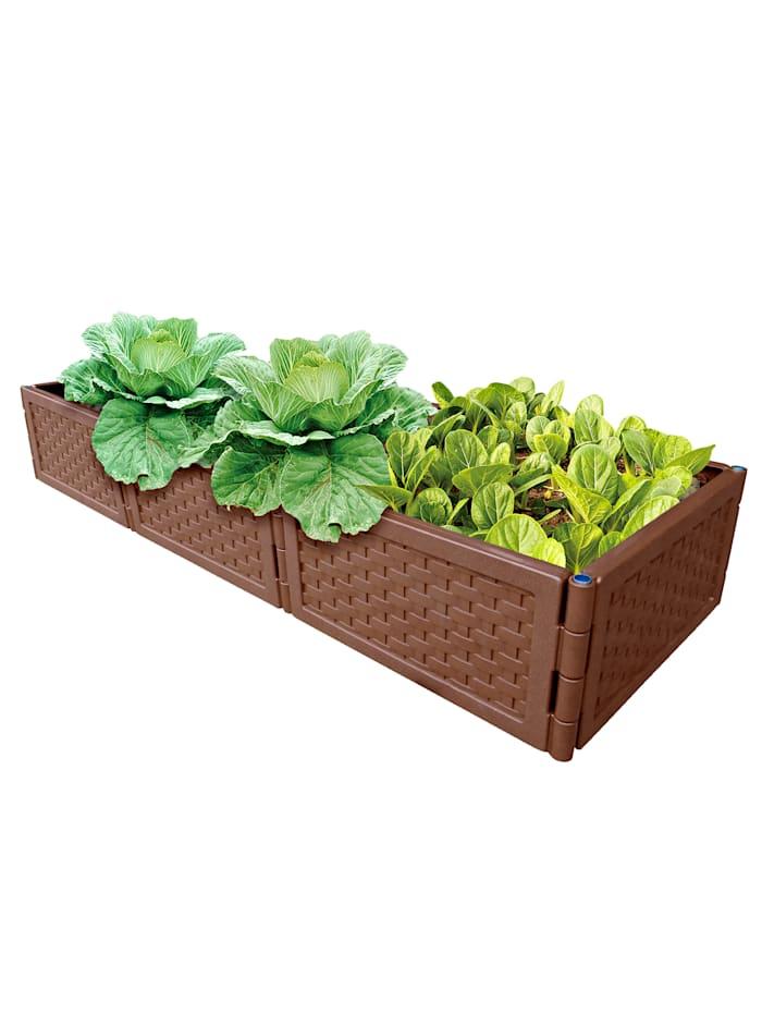UPP Monikäyttöinen viljelylaatikko, 3/pakkaus, ruskea