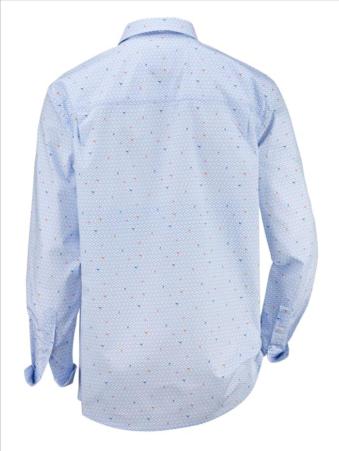 Hemd mit trendigem Druckmuster