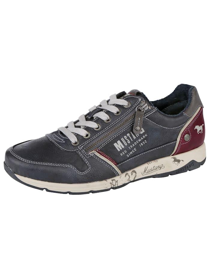 Sneakers med glidelås
