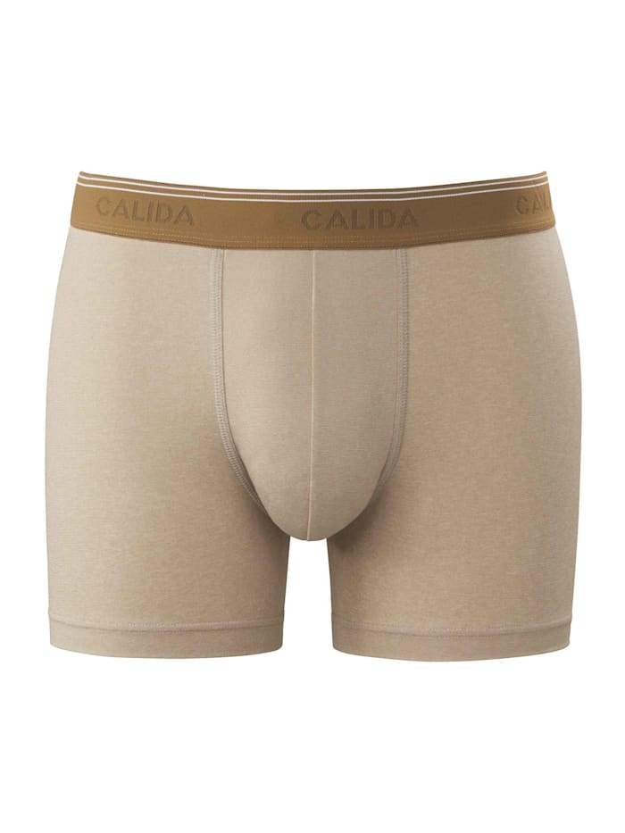 Calida New Boxer mit längerem Bein Made in Europe, bronce