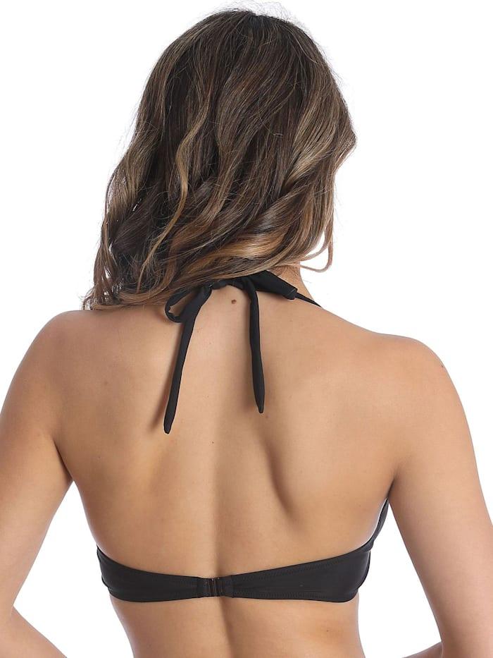 Bikini-Top mit Schale BASIC BLACK