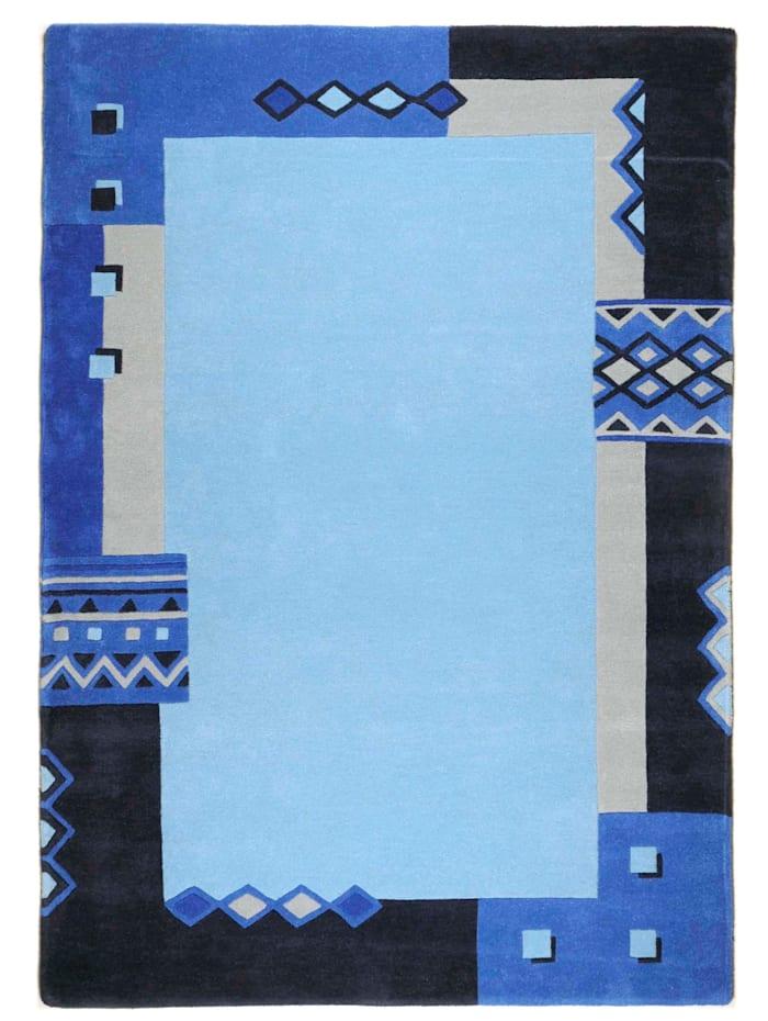 Theko®die Markenteppiche Vloerkleed Sampath, Blauw