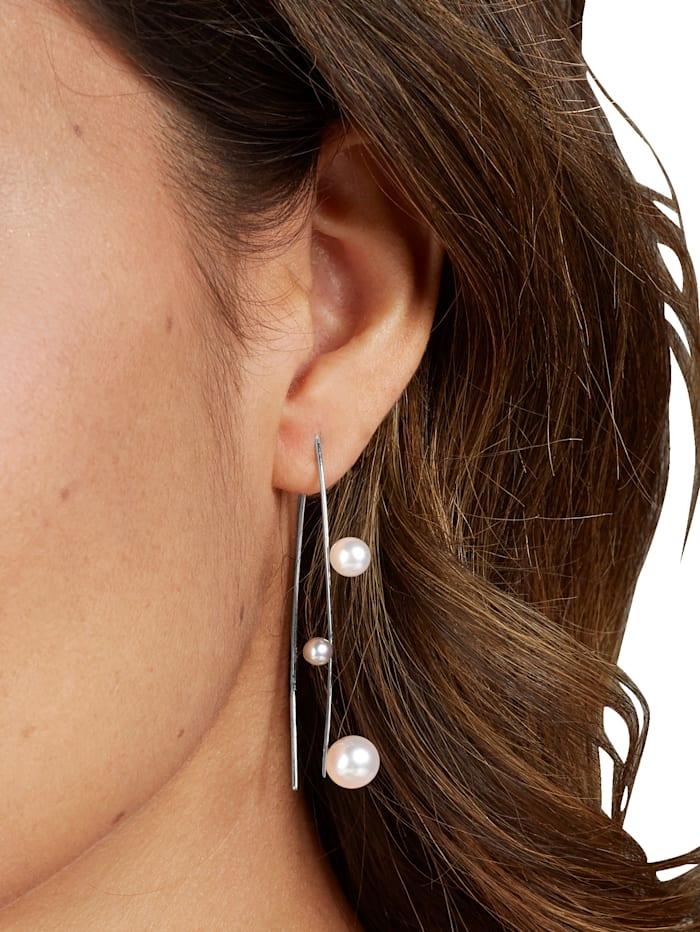 Ohrringe mit Süßwasser-Zuchtperlen