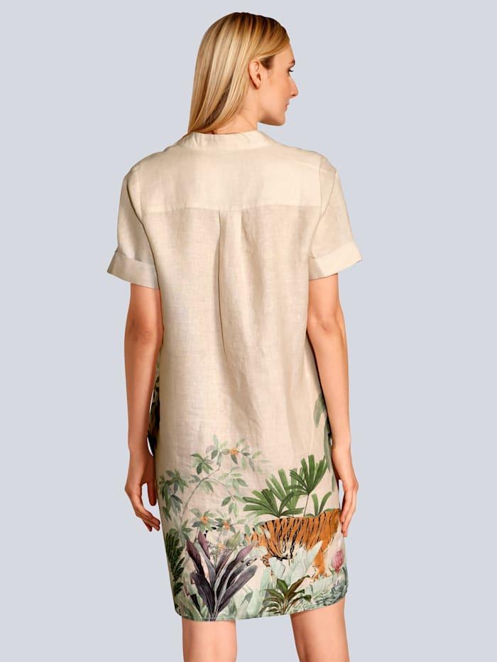 Kleid im schönen Jungle-Druck