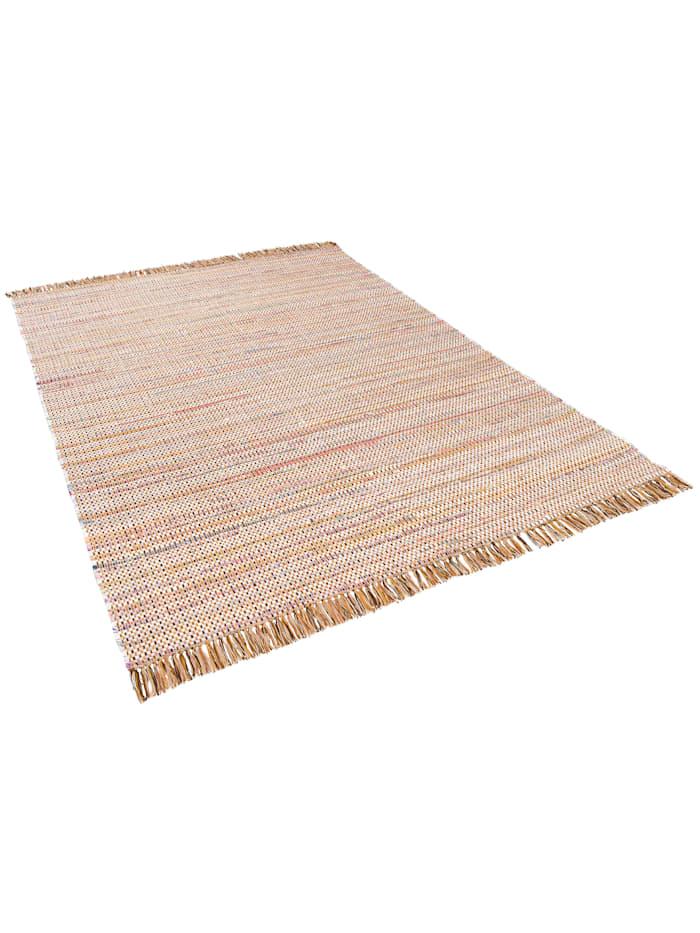 Pergamon Baumwolle Natur Teppich Cayenne, Braun