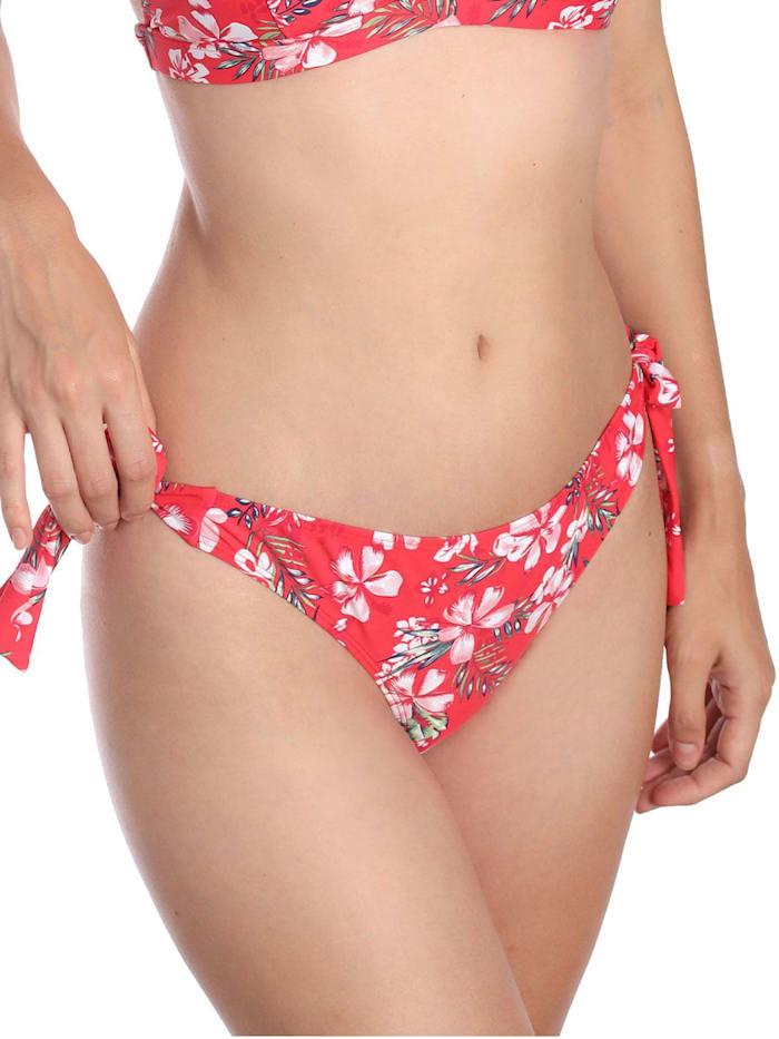 sassa Bikini Slip ORCHID PRINT, red