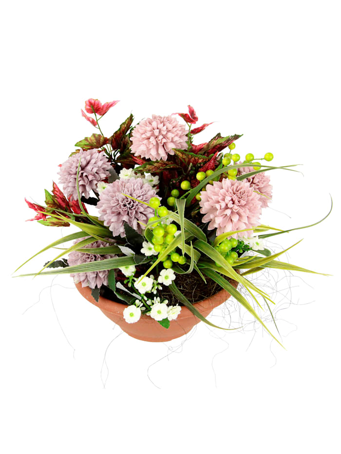 Kukka-asetelma, monivärinen