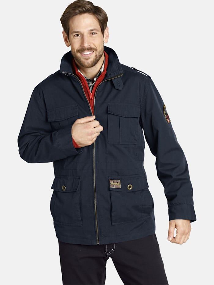 Jan Vanderstorm Fieldjacket BROR, blau