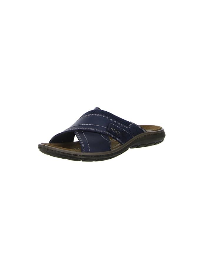 Salamander Pantoletten, blau
