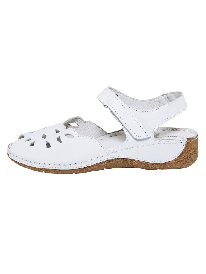 Sandaler med kardborrerem