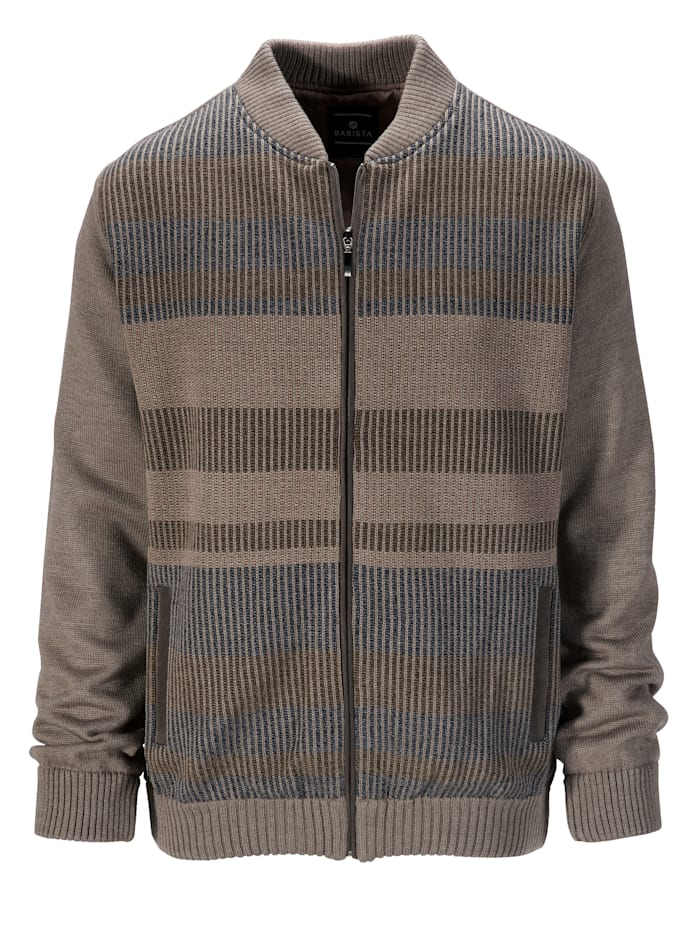 BABISTA Vest met trendy beleg, Beige