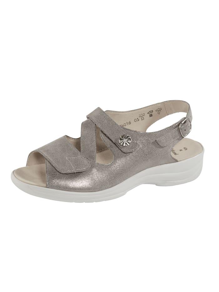 Solidus Sandale, Taupe
