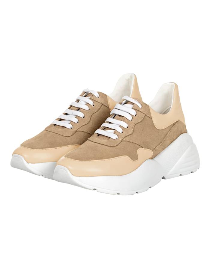 REKEN MAAR Sneaker, Beige