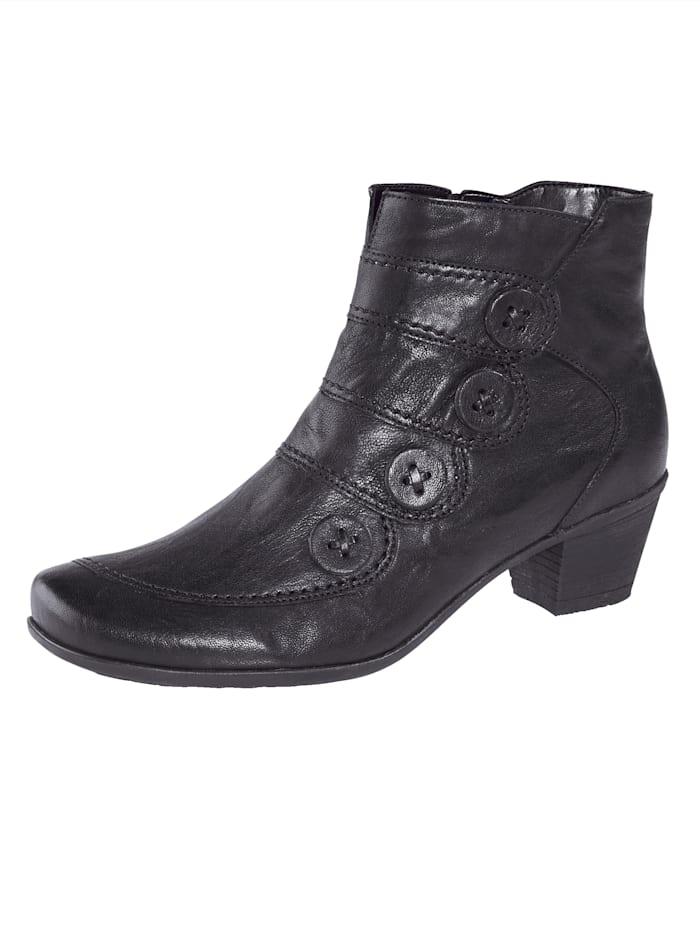 Gabor Bottines de style mode, Noir