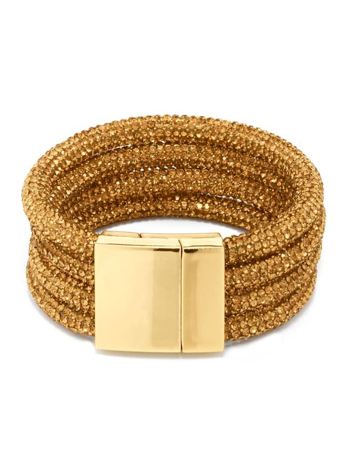 Alba Moda Armband als schmückendes Details, Bronzefarben