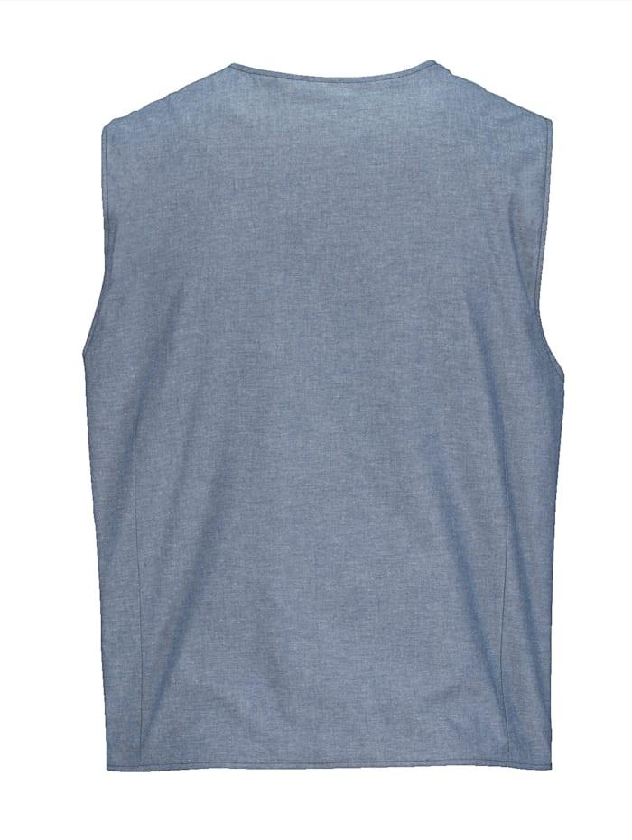 Sweatshirtväst av 100% bomull