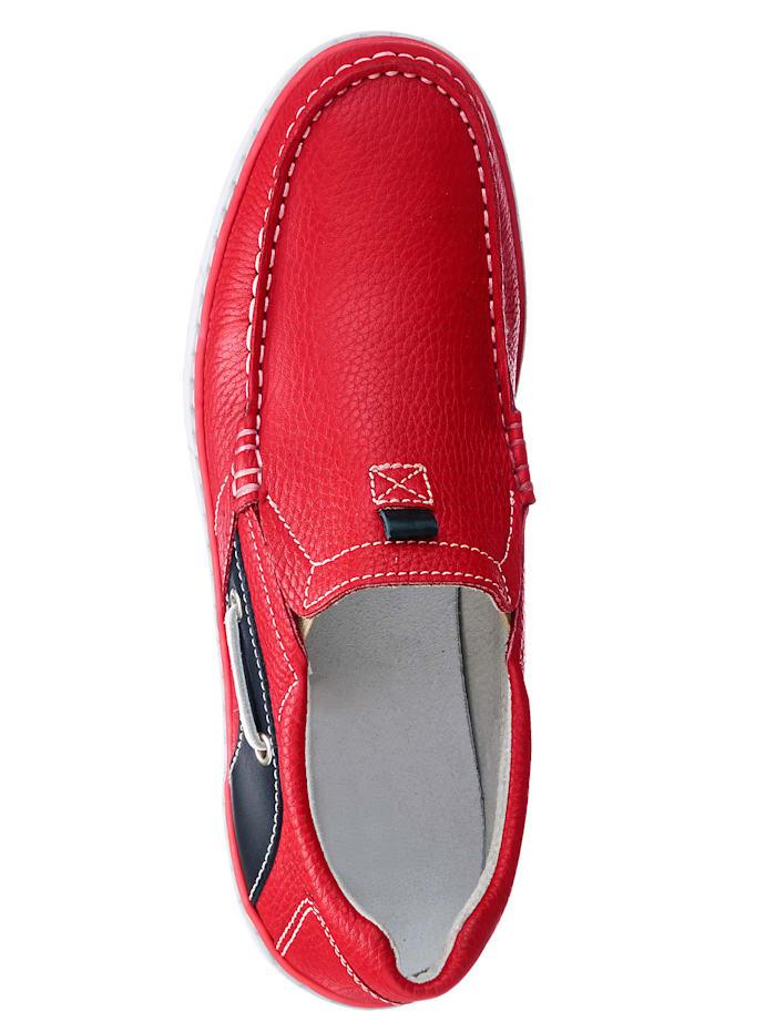 Slipper im Bootsschuh Stil