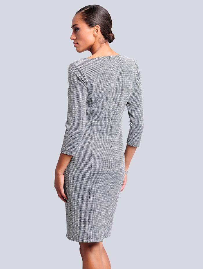 Kleid mit Zipperdetails