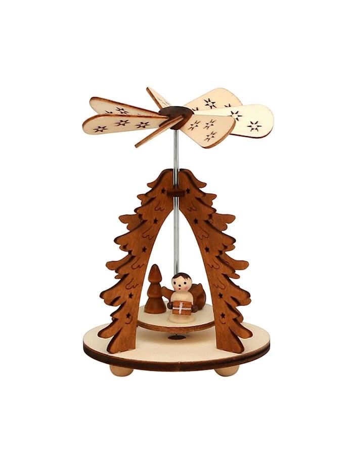 Sigro Holz Wärmespiel Baum Engel, Natur