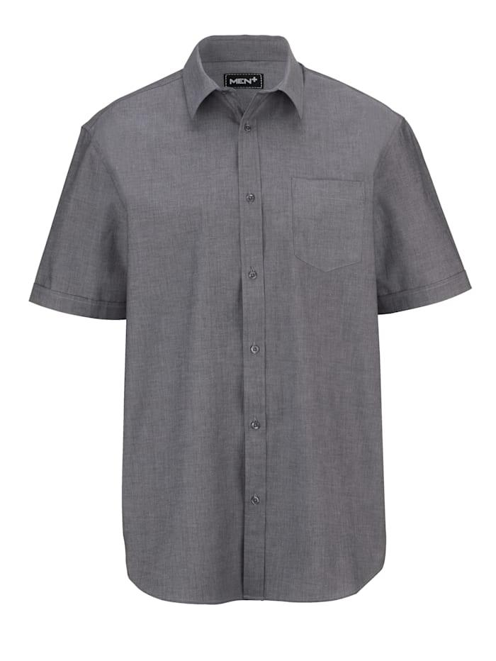 Kurzarmhemd aus reiner Baumwolle
