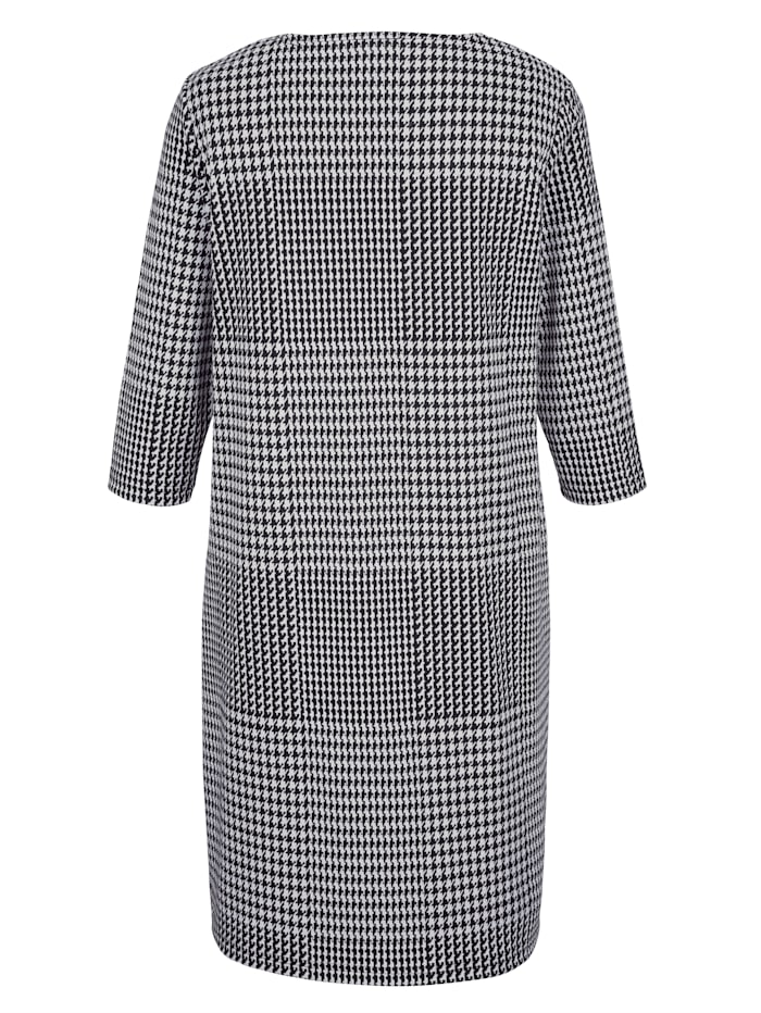 Šaty s glenček vzorem