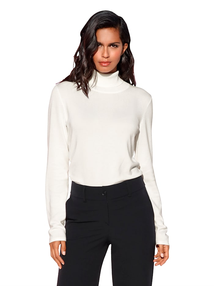 AMY VERMONT Coltrui van comfortabel stretchmateriaal, Offwhite