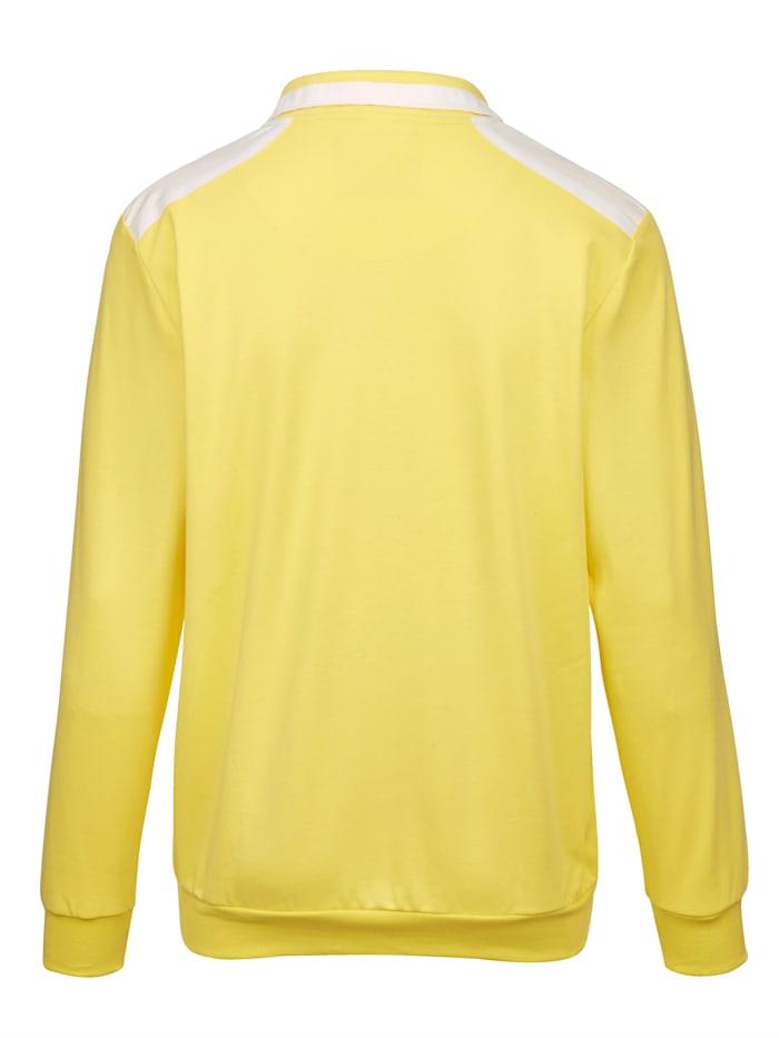 Sweatshirt in sommerlichen Farben