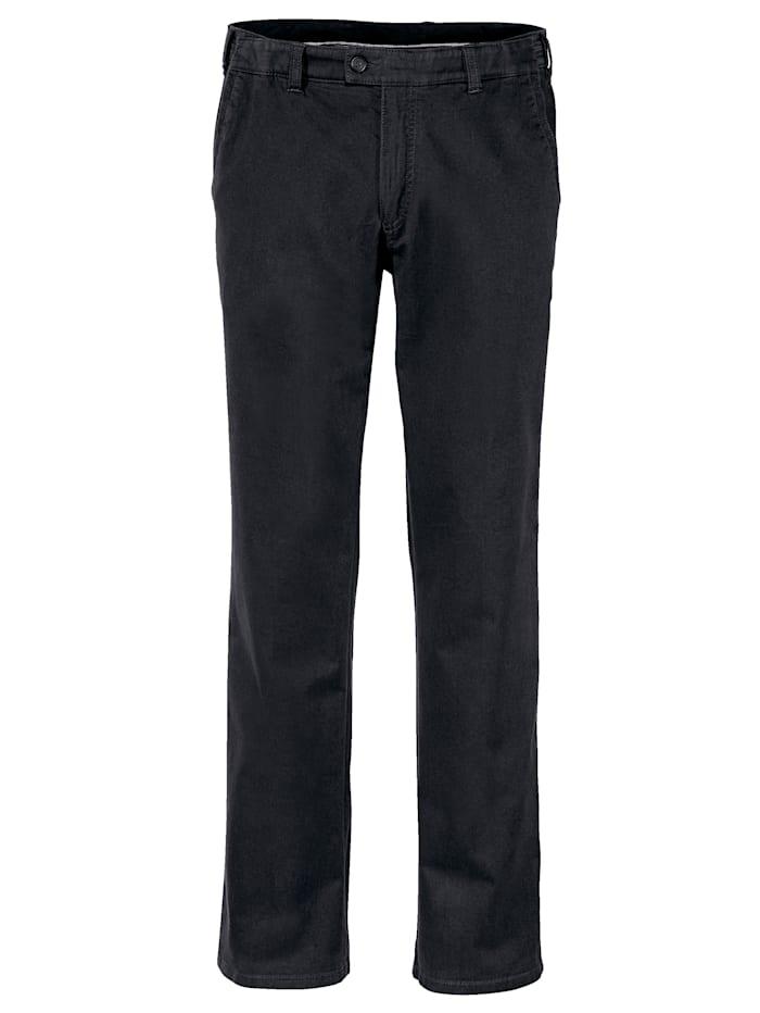 BABISTA Pantalon 7 cm de largeur supplémentaire à la taille, Noir