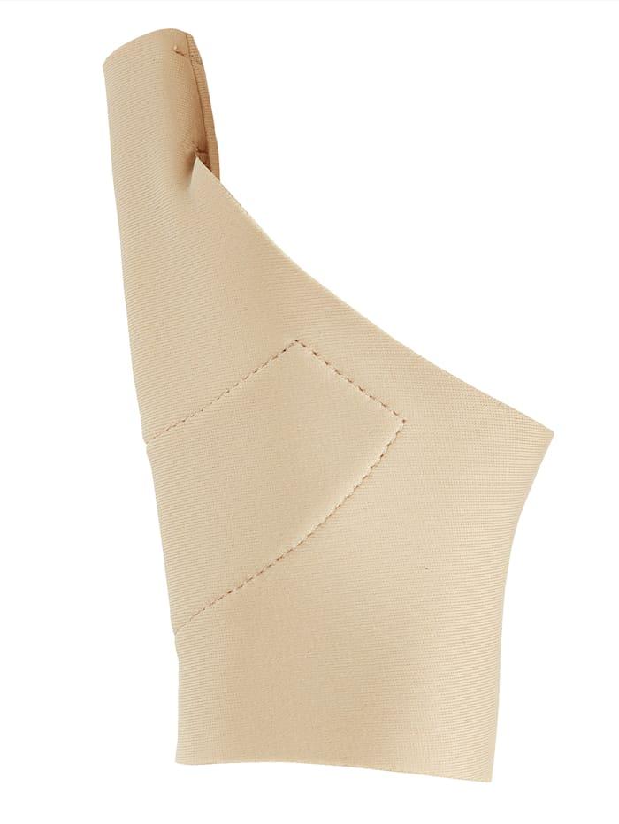Duimbandage van flexibel materiaal