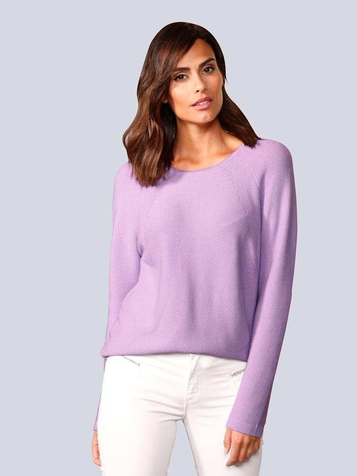 BRAX Pullover in modischer Farbe, Flieder