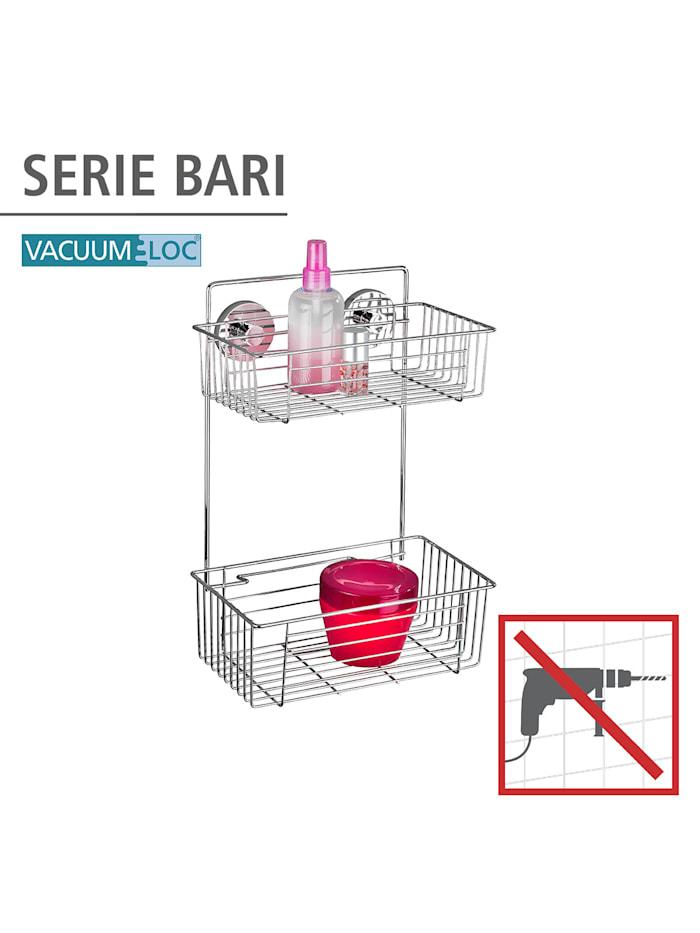Vacuum-Loc® Wandregal 2 Etagen Bari, Befestigen ohne bohren