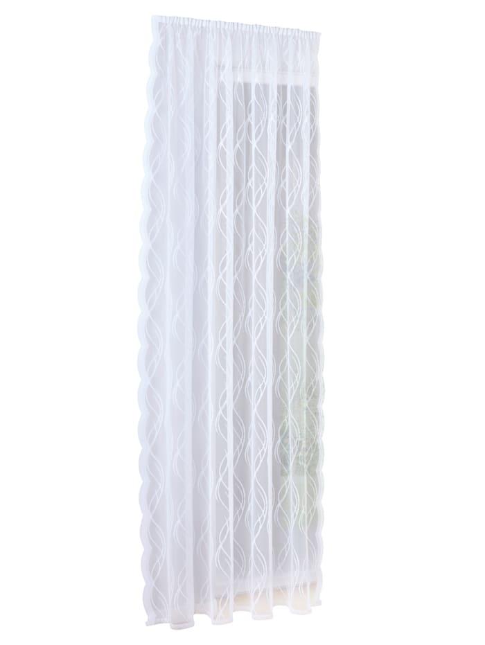Webschatz Gardin -Texi-, hvit