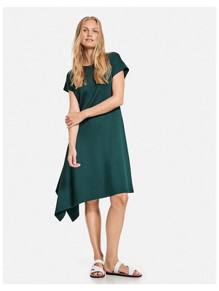 Kleid mit asymmetrischem Saum EcoVero