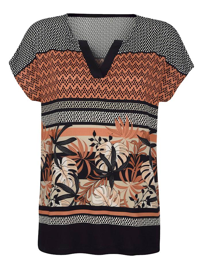 T-shirt de coupe tunique