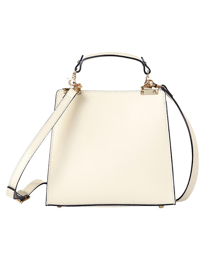 Handtasche In neuer Form durch einseitigem Henkel