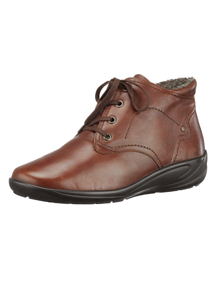 Semler Lace-Up Boots, Cognac