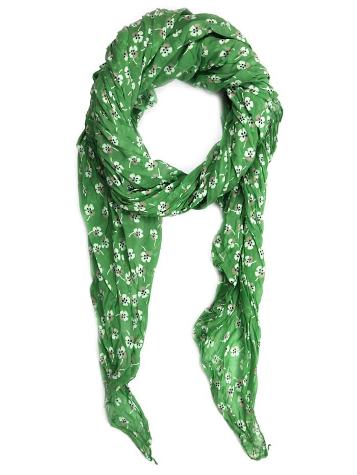 Collezione Alessandro Italienischer Schal Delinda Made in Italy, grün