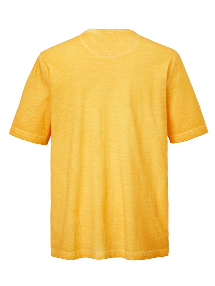 T-shirt i sliten look
