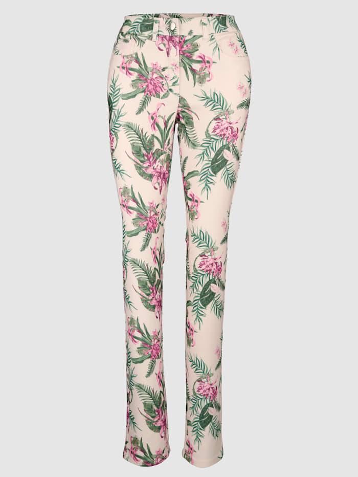 Laura Kent Pantalon de coupe Laura Slim, Beige