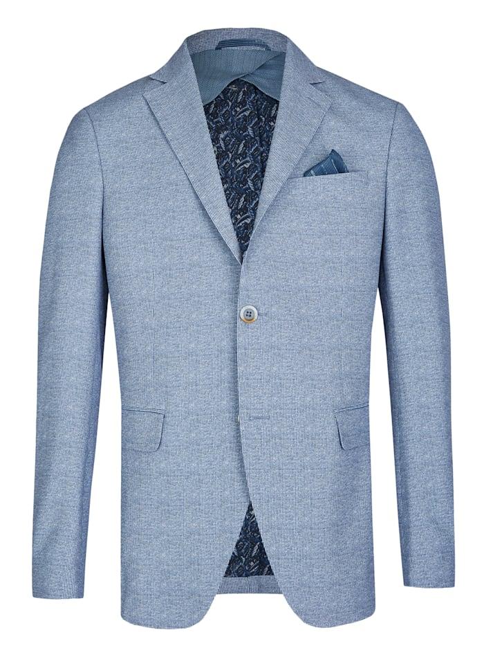 Daniel Hechter Anzug-Sakko mit allover Druck, light blue