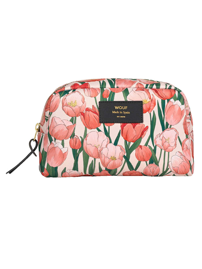 Wouf Beautytasche, Tulpen, Multicolor