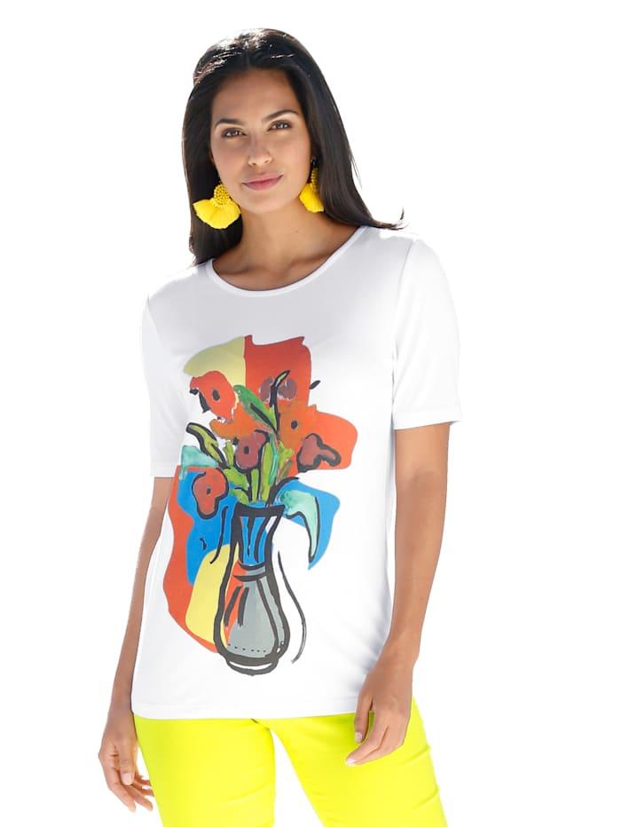 AMY VERMONT Shirt met motief, Wit