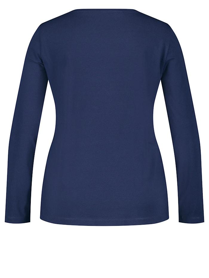 Shirt mit Letter-Print aus GOTS zertifizierter Bio-Baumwolle