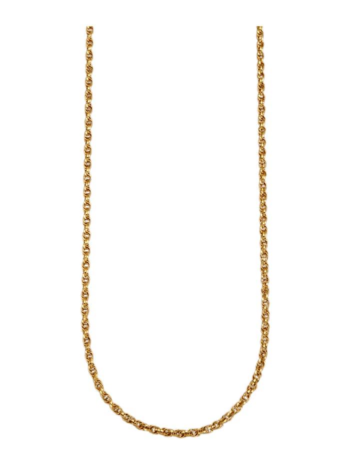 Diemer Gold Dubbele ankerketting van 14 kt. goud, Geelgoudkleur