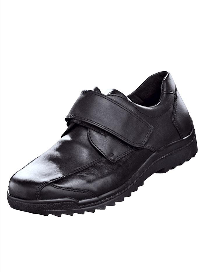 Waldläufer Klettslipper für besonders empfindliche Füße, Schwarz