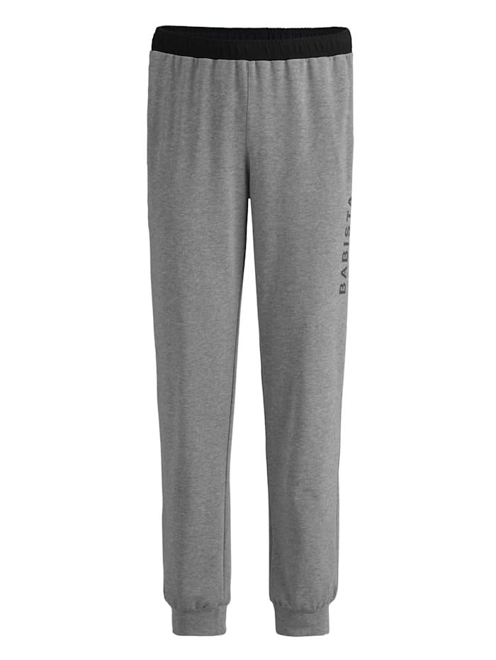 BABISTA Pantalon de jogging Poches zippées, Gris