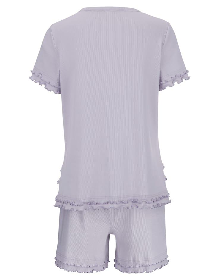 Short Pyjama Set with beautiful lace detailing