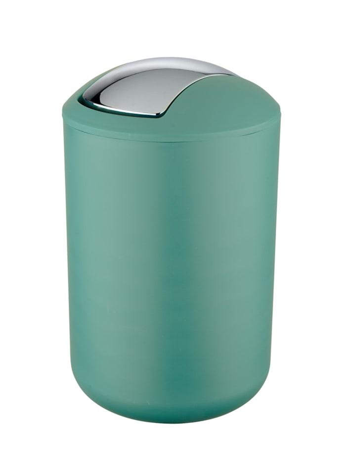Wenko Schwingdeckeleimer Brasil Grün L, 6,5 Liter, Grün