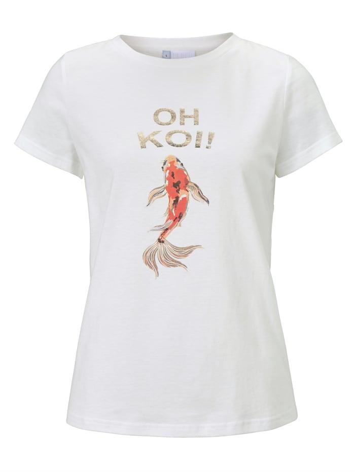 REKEN MAAR T-Shirt, Weiß