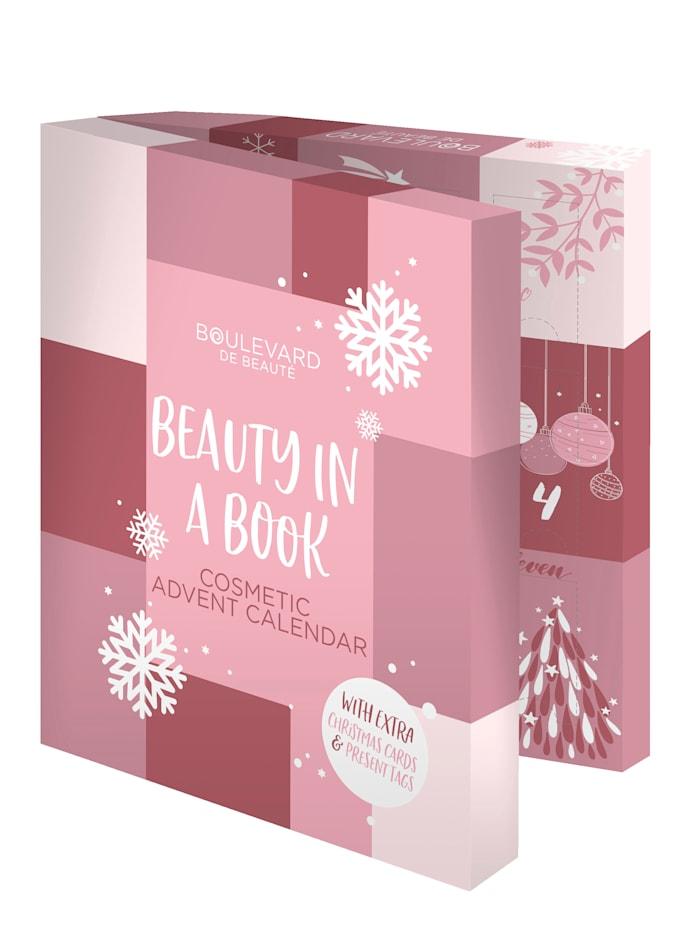 Adventskalender – Beauty In A Book, flerfärgad